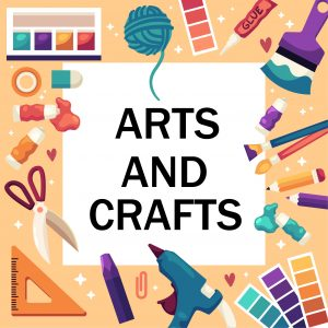 Arts and crafts graphic design style